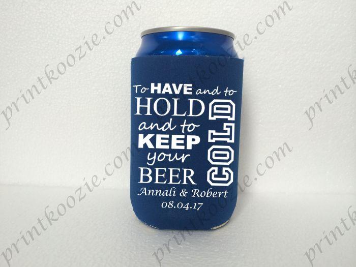 personalized wedding koozies personalized beer cozy koozie wedding
